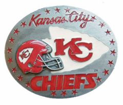 SPOR 314 Kansas City Chiefs Belt Buckle