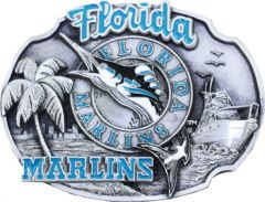 SPOR 336 Florida Marlins Belt Buckle