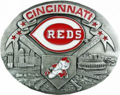 SPOR 339 Cincinnati Reds Belt Buckle