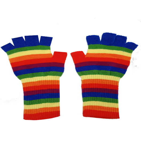GLOVE 057 ADULT RAINBOW GLOVE