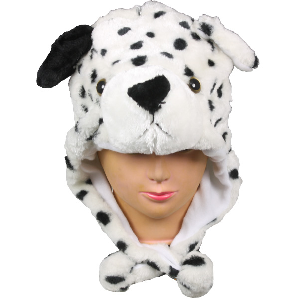 Dalmatian Animal Hats with Earmuff (013)