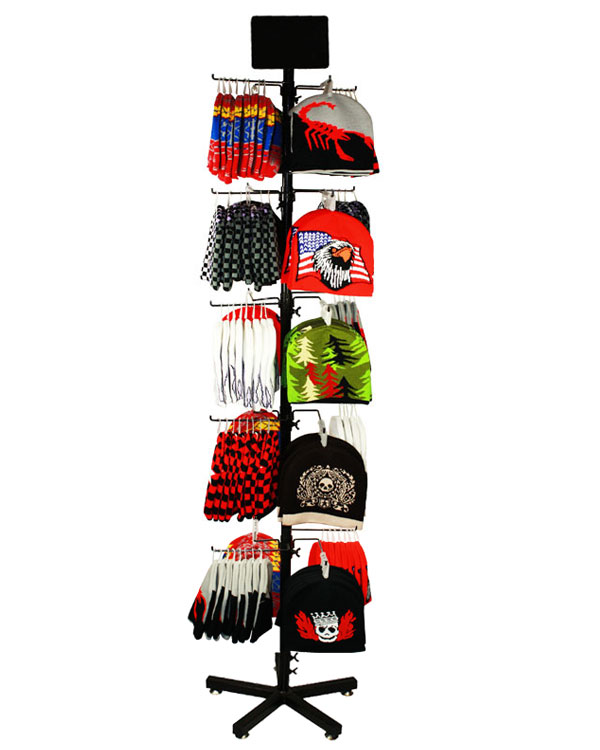 SET AB 004 FASHION BEANIE SET(120 PCS BEANIE WITH DISPLAY)