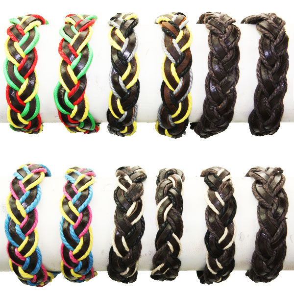 LTH AB 034 LEATHER BRACELET 60 PCS