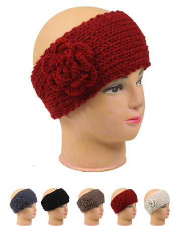 Knitted Women Woolen Headband (016)