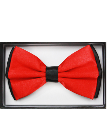 BOWTIE 030 TWO TONE RED