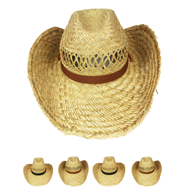Rush Straw Lightweight Man Cowboy Hat (003)
