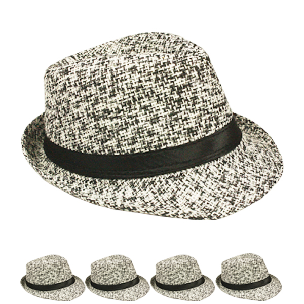 Lightweight Crushable Trending Trilby Fedora Hat (152)