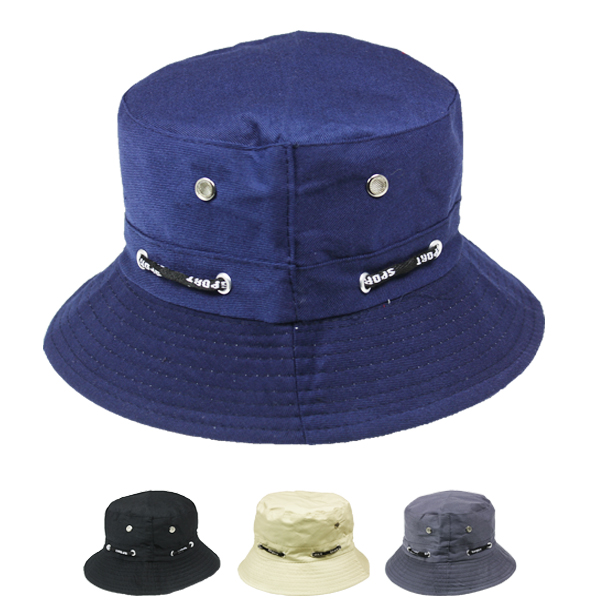Plain Solid Colors Men Cotton Bucket Hat (030)