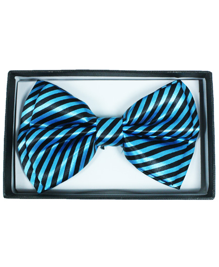 BOWTIE 065 BLUE STRIPED