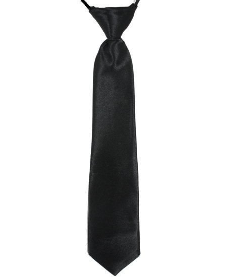 KID NECKTIE  401 BLACK
