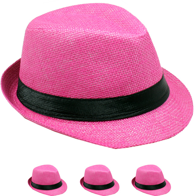 KID FEDORA HAT 001 ONE COLOR