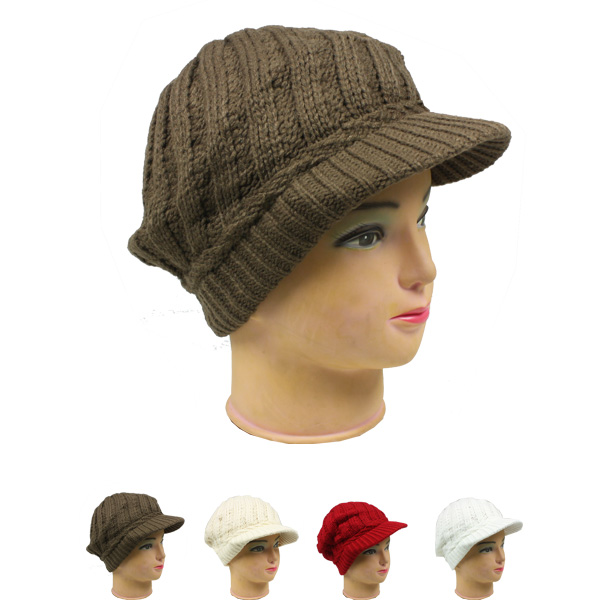 Knitted Women Woolen Hat (025)
