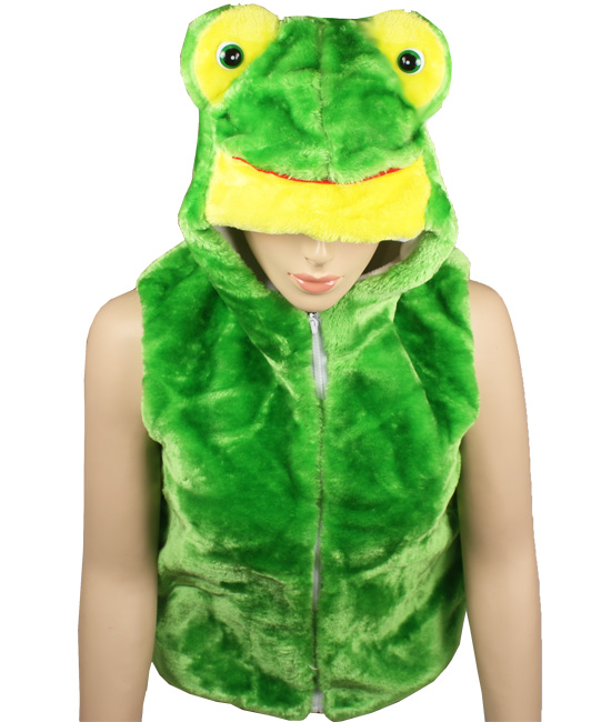 Cute Warm Kid's Frog Animal Jacket with Hat (304)