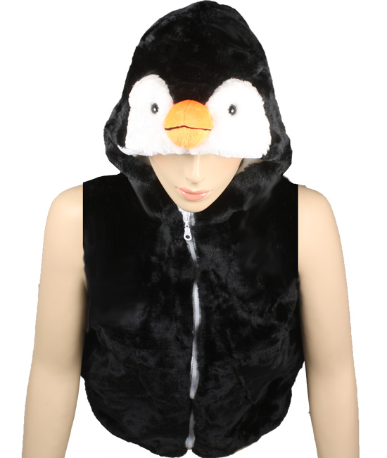 Cute Warm Kid's Penguin Animal Jacket with Hat (305)