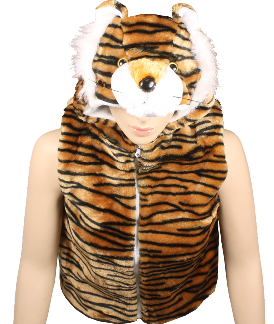 Cute Warm Kid's Tiger Animal Jacket with Hat (308)
