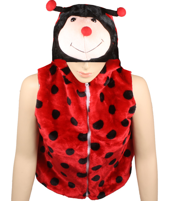 Cute Warm Kid's Ladybug Animal Jacket with Hat (309)
