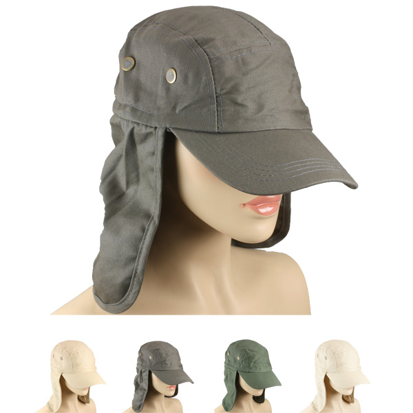 Men Waterproof Baseball style Neck Flap Hat (034)