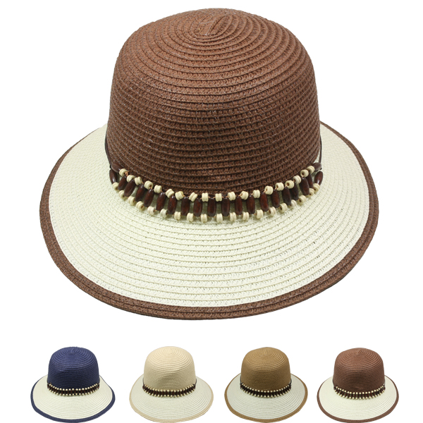 Women Cloche Summer Beach Hat (106)