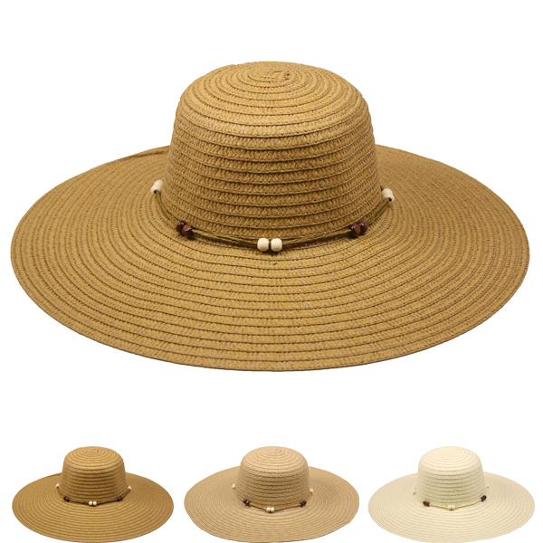 Exquisite Woman Summer Beach Straw Hat (018)