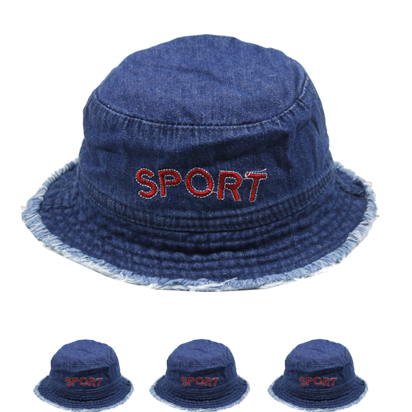 Baby Boy Kid Soft Denim Sun Protection Hat (017)