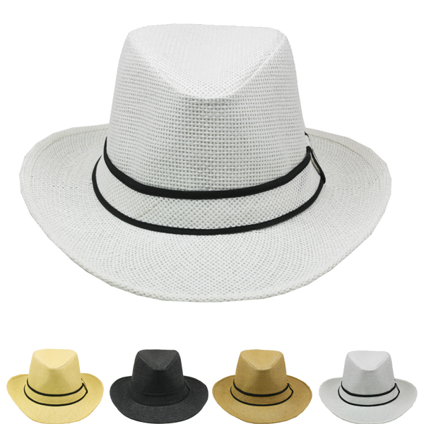 Elegant Western Pinch Men Cowboy Hat (038)