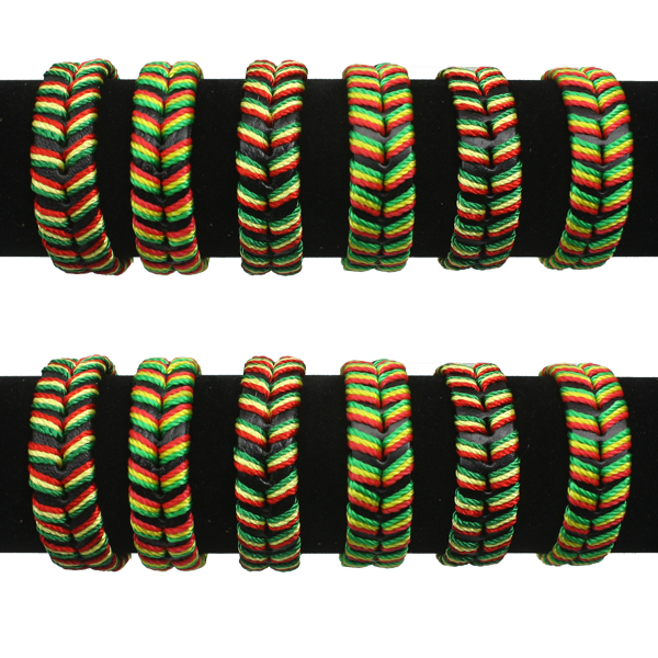 LTH AB 056 LEATHER BRACELET 60 PCS