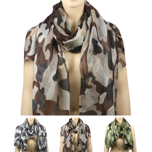 SCARF AB 147 CAMOUFLAGE