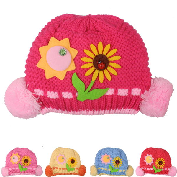 Sunflower Kid Winter Hat (020)