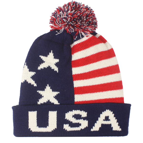 USA Men Winter Hat (029)