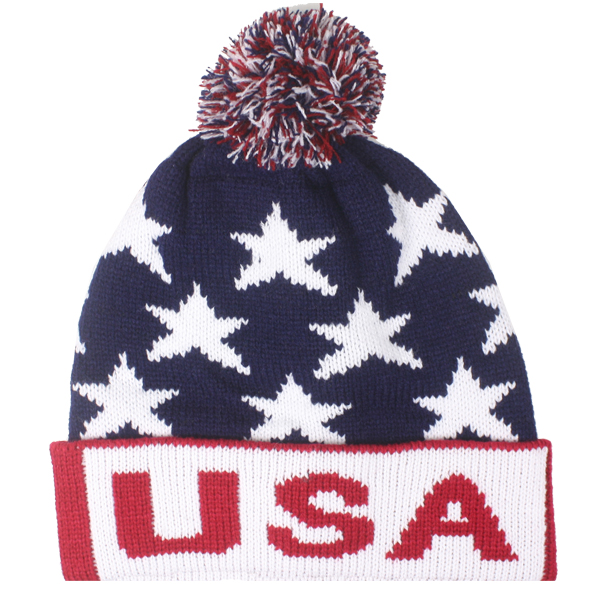 USA Men Winter Hat (030)