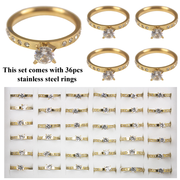 RING 101 AB STAINLESS STEEL RINGS