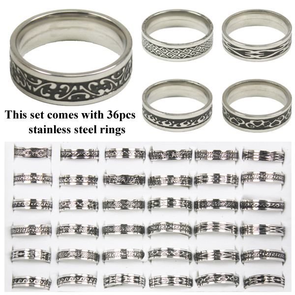 RING 103 AB STAINLESS STEEL RINGS