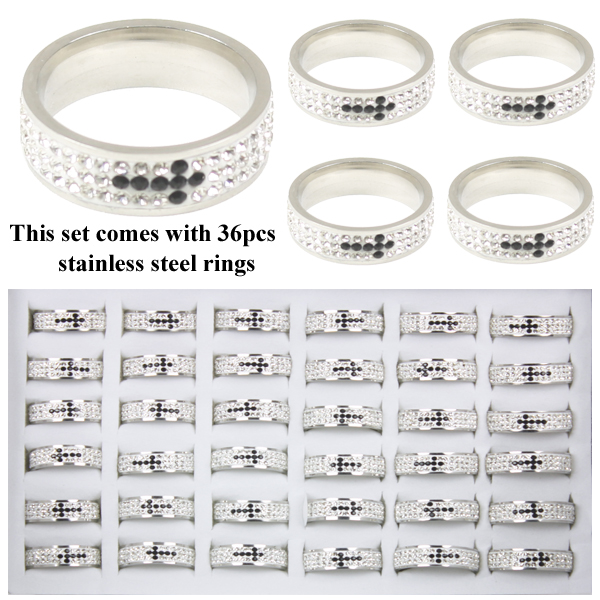 RING 105 AB STAINLESS STEEL RINGS