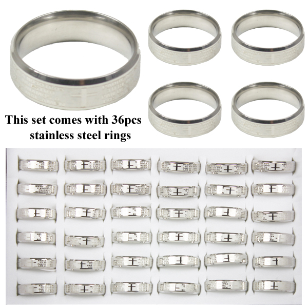 RING 108 AB STAINLESS STEEL RINGS