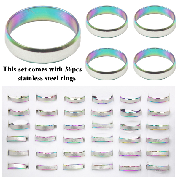 RING 112 AB STAINLESS STEEL RINGS