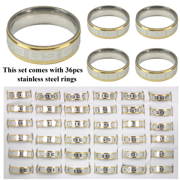 RING 113 AB STAINLESS STEEL RINGS