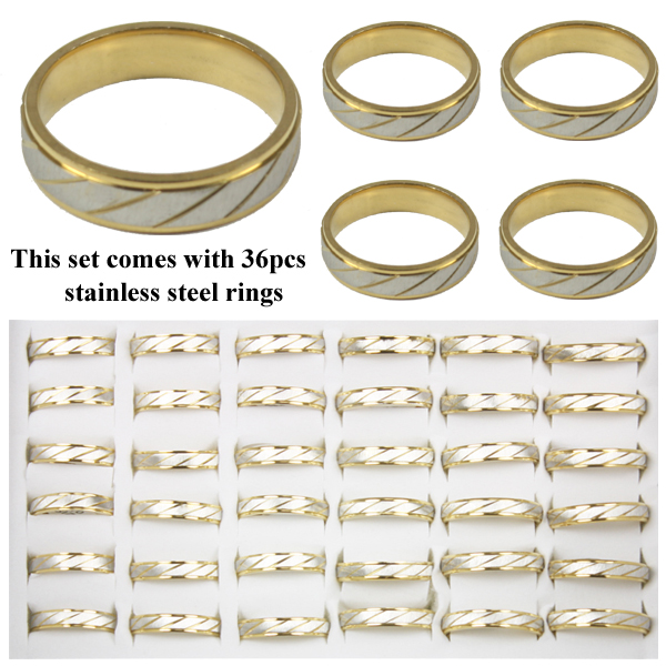 RING 114 AB STAINLESS STEEL RINGS