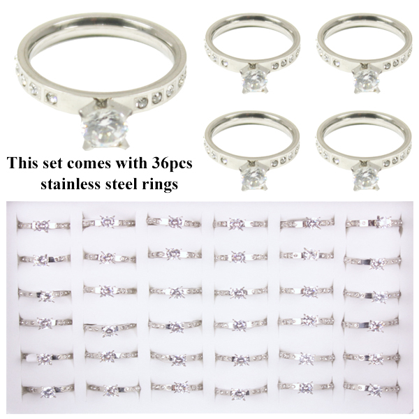 RING 100 AB STAINLESS STEEL RINGS
