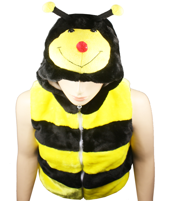 Cute Warm Kid's Honeybee Animal Jacket with Hat (310)