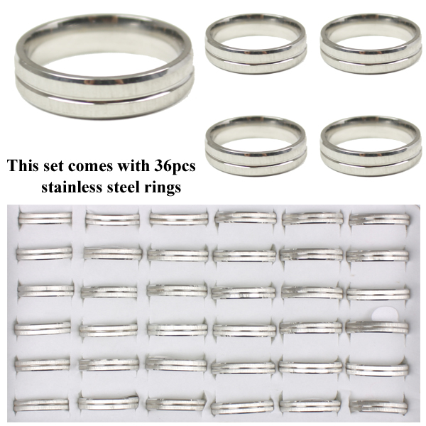 RING 111 AB STAINLESS STEEL RINGS