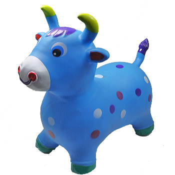 Inflatable Jumping Blue Cattle (091)