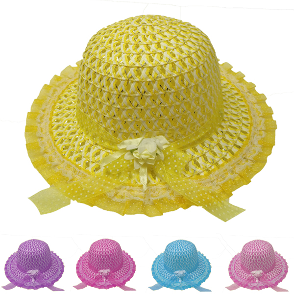 Soft & Beautiful Baby Girl Sun Protection Hat (003)