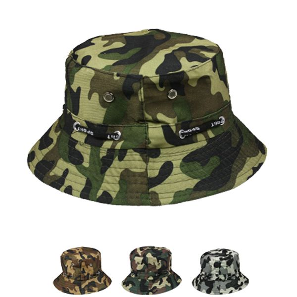 Baby Boy Kid Summer Camouflage Bucket Hat (022)
