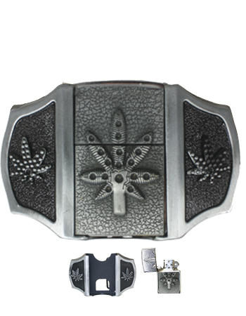 Marijuana Lighter Belt Buckle (Light 023)