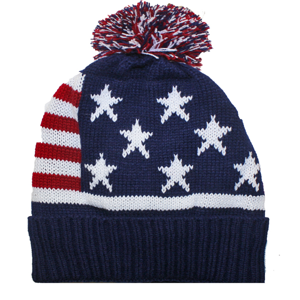 USA Men Winter Hat (028)