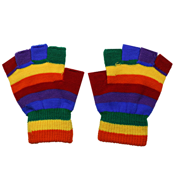 GLOVE 048 KIDS RAINBOW GLOVE