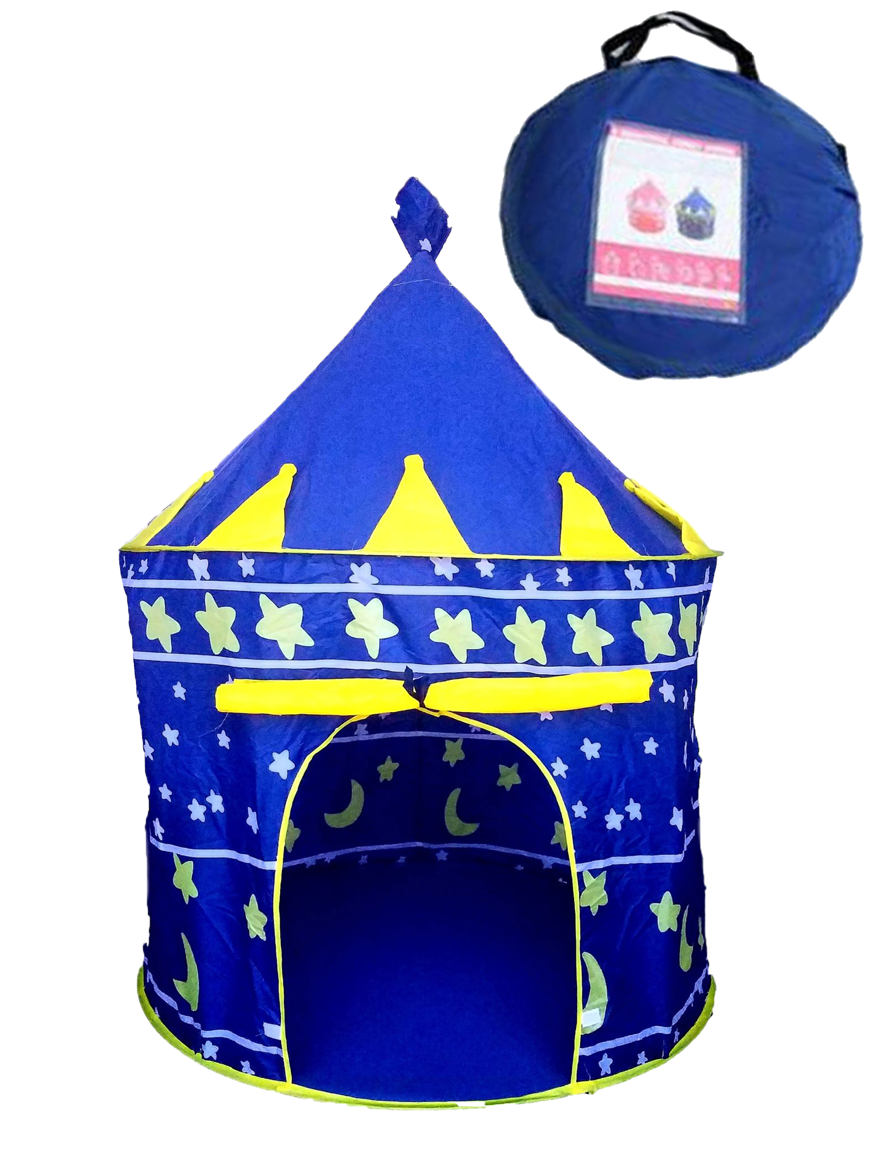 TOY 008 TENT KIDS BLUE