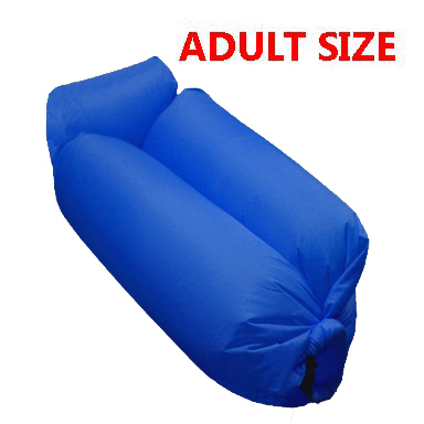 INFLATABLE BED 006 ROYAL BLUE
