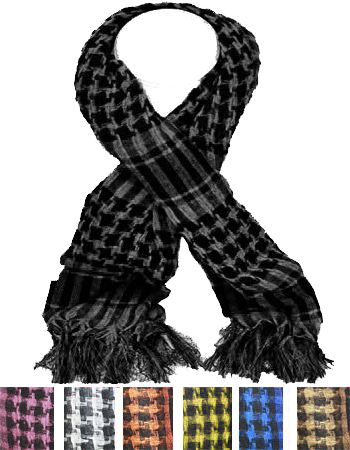 SCARF AB 250 SCARVES MIX COLOR
