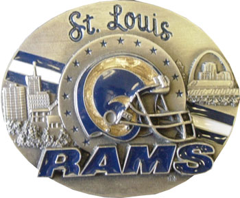 St Louis Rams Belt Buckle (SPOR 327)